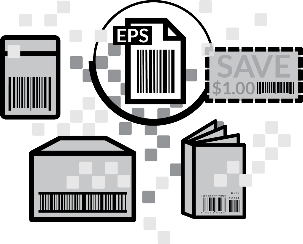 Digital Barcode files from Bar Code Graphics