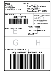gs1-128 shipping labels