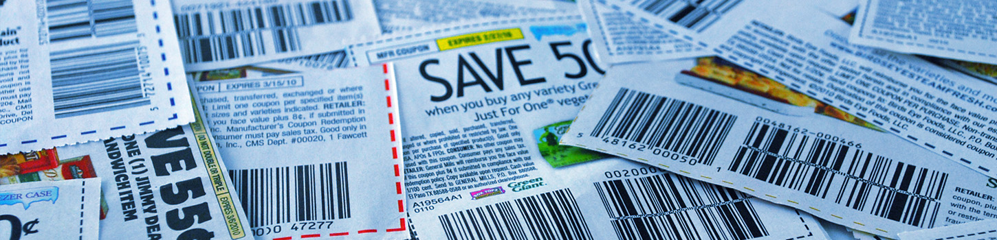 Coupon upc value codes