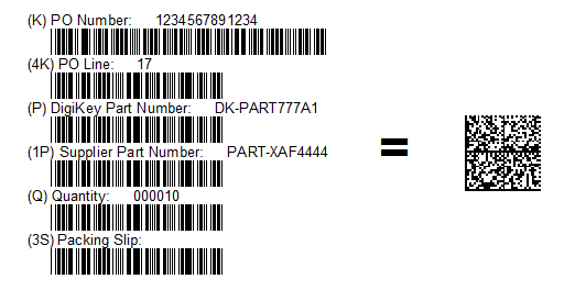 Data Matrix Barcode Information | Data Matrix 2D Barcodes