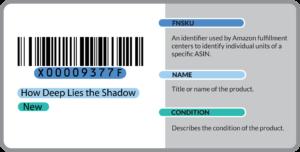 Amazon barcode