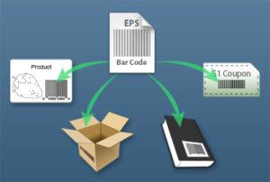digital barcode file