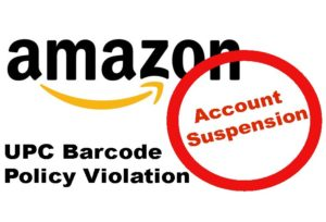 Amazon UPC barcode policy