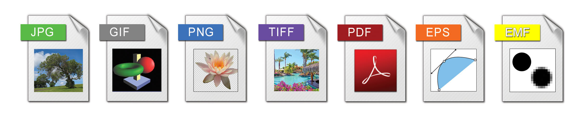 Barcode Image File Formats - Bar Code Graphics