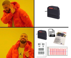 barcode verification meme
