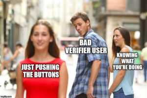 type of verifier users