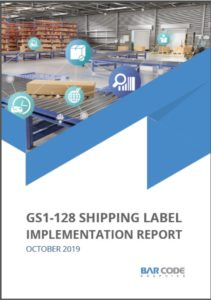 gs1-128 shipping label report